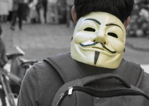 Az anonymus maszk igencsak érdekes